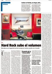 Hamish Dodds, director general Hard Rock Café.